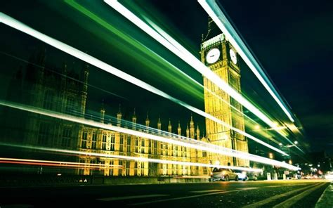london city motion blur long exposure westminster