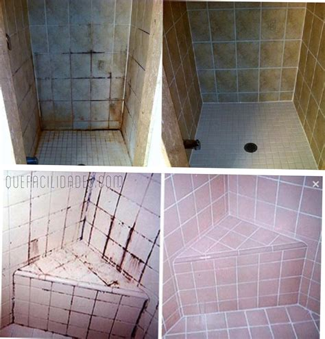 limpieza maxima deja impecables los azulejos del bano