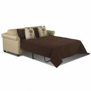 Queen Sleeper Sofa With Air Coil Mattress By Klaussner
