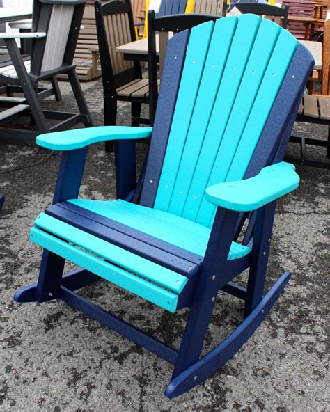 Polywood Adirondack Chairs Amish by Poly Adirondack Rocking Chair Amish Traditions Wv