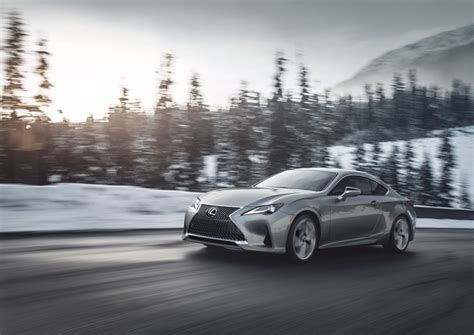 luxury sports coupe reimagined   lexus rc