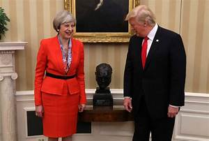 9 Trump moments over lunch with Theresa May – POLITICO