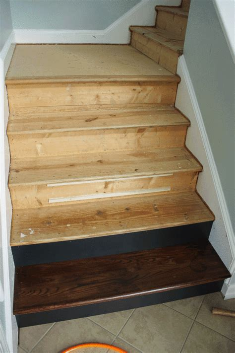 hardwood stairs installation how to install hardwood floors on stairs gurus floor