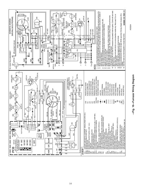 Carrier Ga Furnace Wiring Diagram by Fig 16 Furnace Wiring Diagram Carrier Weathermaker 8000