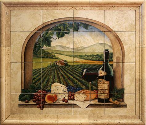 kitchen backsplash tile murals ceramic tile murals for kitchen or barbeque backsplash and