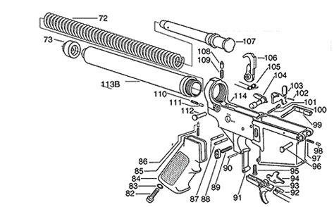 Ar 15 Assembly Diagram pin on guns