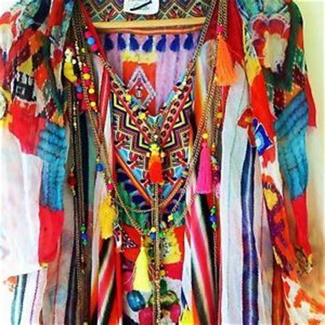 on sale ethnic kaftan camilla franks manta kaftan with pom pom overlay dress