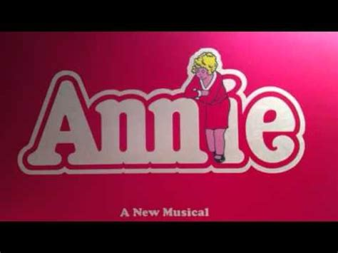 Annie (2014) soundtrack lyrics at lyrics on demand. The Sun Will Come Out Tomorrow Annie The Musical - YouTube