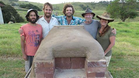 build  simple diy wood fired oven sbs food