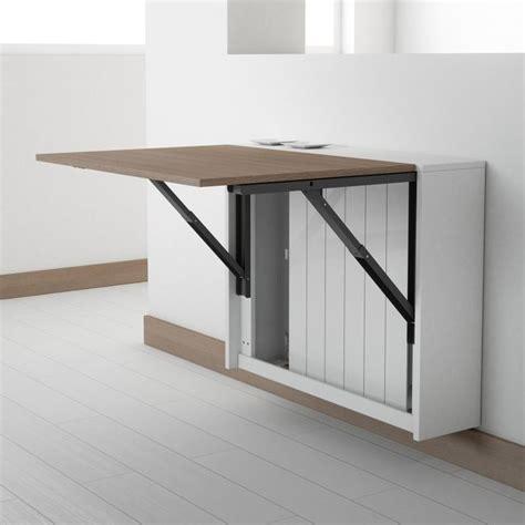bureau pliable mural les 25 meilleures idées concernant table murale rabattable