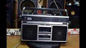 Philips Spatial Stereo 584 Vintage Radio Cassette Recorder