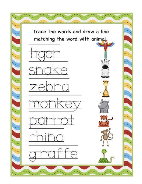 jungle animals preschool jungle animal worksheets for preschoolers free printable 132