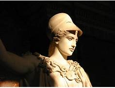 The Athena of Velletri or Velletri Pallas, marble statue ...