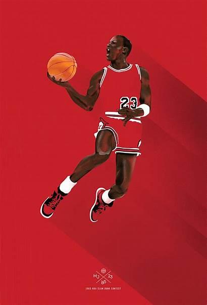 Jordan Michael Air Posters Basketball Wallpapers Type