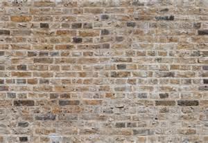 Beige Seamless Brick Wall