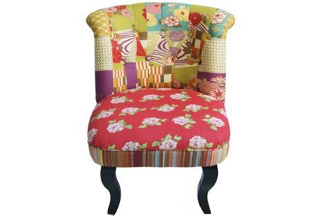 fauteuil crapaud patchwork fauteuils design pas cher