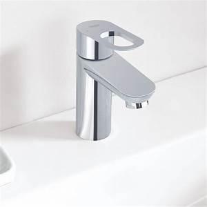 Mitigeur Grohe Lavabo : robinet mitigeur lavabo design grohe bauloop le monde du ~ Dallasstarsshop.com Idées de Décoration