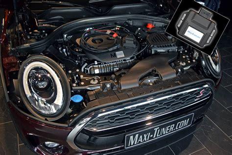 maxi tuner reveals mini cooper  clubman   hp
