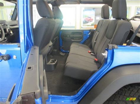 jeep wrangler backseat 2015 jeep wrangler unlimited sport 4x4 rear seat photos