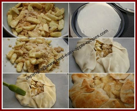 open face apple pie recipe   easy single pastry