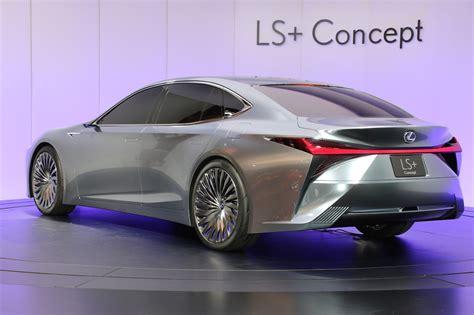 lexus ls concept previews  brands autonomous future