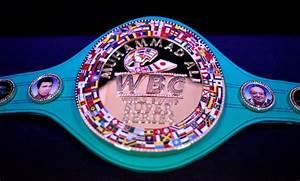 Wbc Reveals  U0026 39 Diamond Title U0026 39  For World Boxing Super Series