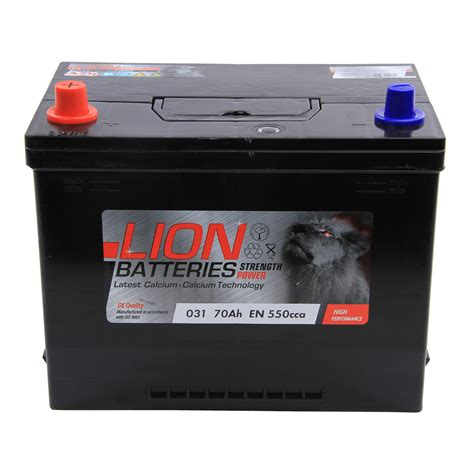 Type 031 540cca 3 Years Warranty Oem Replacement Lion