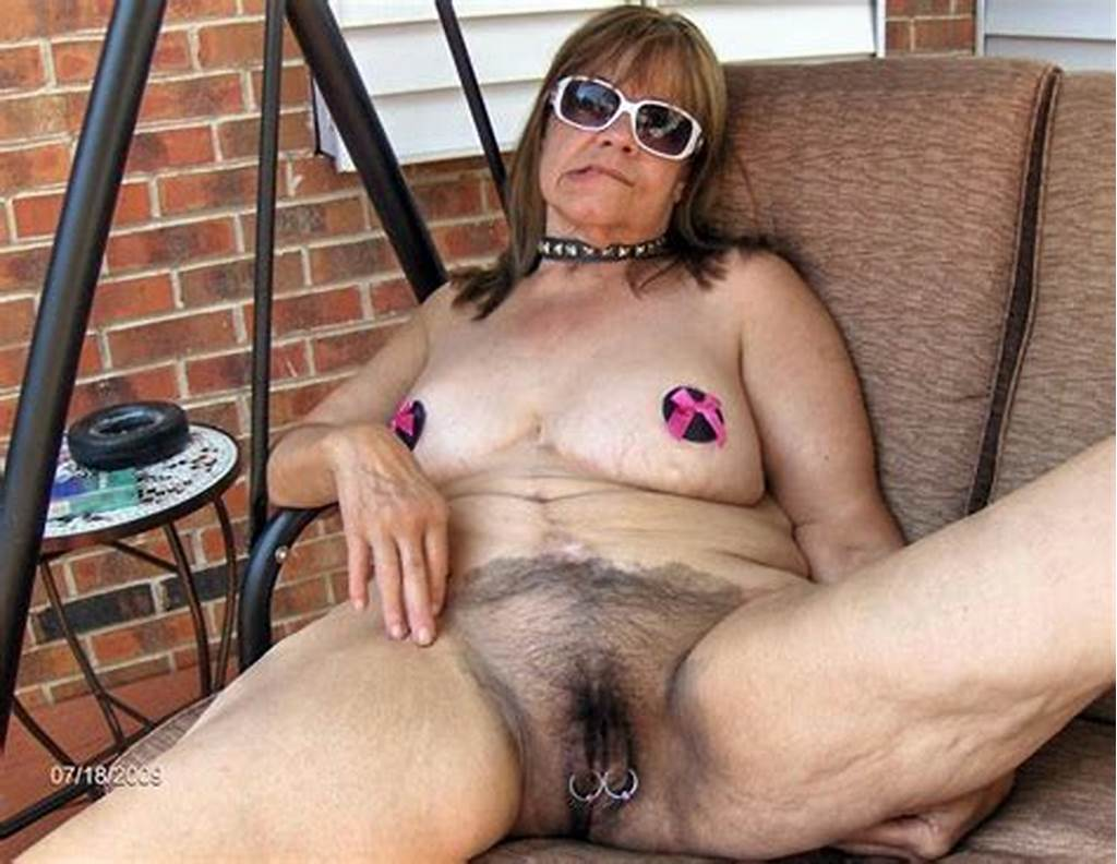 #Hairy #And #Pierced #Granny #Naked