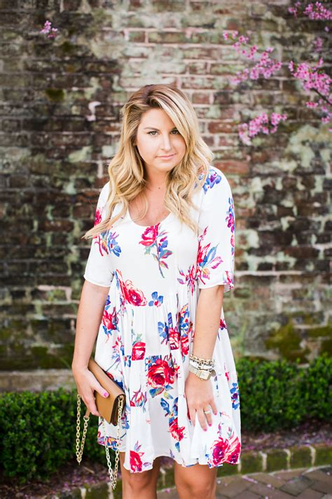 outfit spring floral dress shop dandy  florida