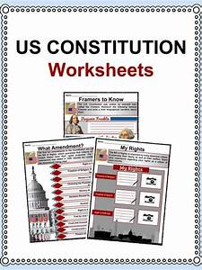 Us Constitution Facts  U0026 Worksheets