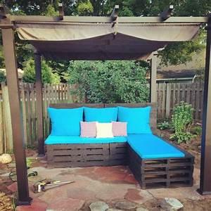 Salon De Jardin En Palette Moderne : salon de jardin en palette le mobilier ext rieur colo ~ Melissatoandfro.com Idées de Décoration