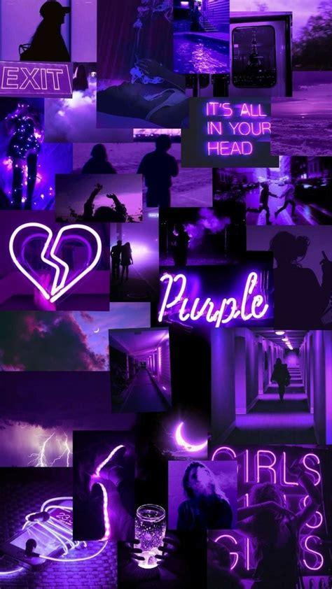 wallpaper aesthetic warna ungu