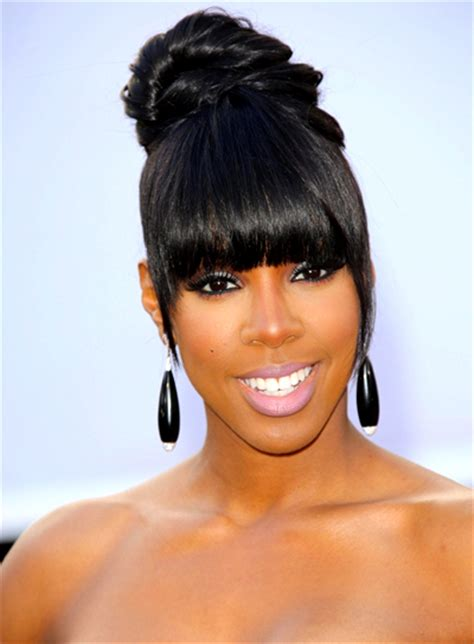 Images Of Black Hairstyles With Bangs by Black Hairstyles With Bangs Riot