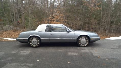 all car manuals free 1990 buick riviera instrument cluster find used 1990 buick riviera luxury coupe 2 door 3 8l in