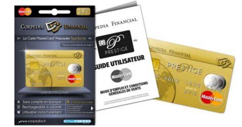 carte de credit dans les bureaux de tabac corpedia financial lance la carte de paiement prépayée