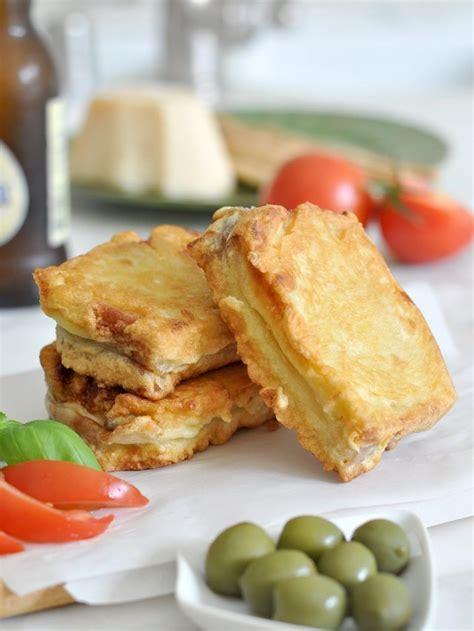 mozzarella in carrozza venezia fried sandwich italian mozzarella in carrozza