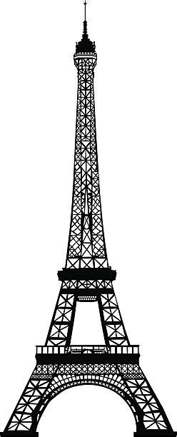 royalty  eiffel tower clip art vector images