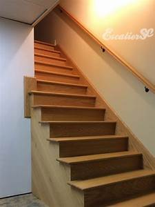 Marche D Escalier En Chene : construction d 39 un escalier int rieur construction r novation club civic quebec forum ~ Melissatoandfro.com Idées de Décoration