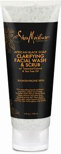 Sheamoisture African Black Soap Problem Skin Facial Wash