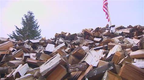 firewood feud lake stevens threatens  fine man