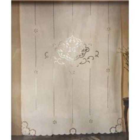 tende di lino ricamate a mano tende in lino ricamate a mano modificare una pelliccia