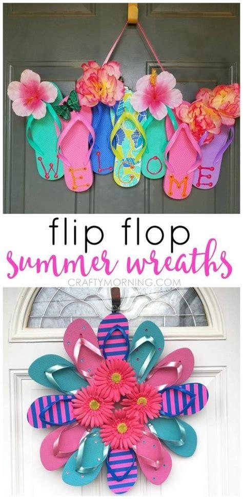 dollar store crafts crafts  teens flip flop