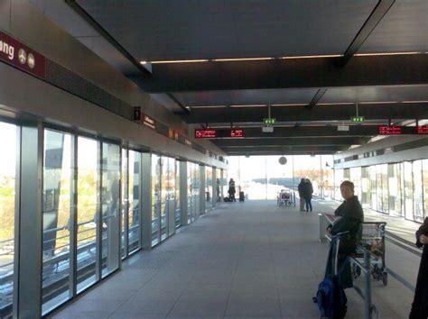 brand  copenhagen airport metro station photo
