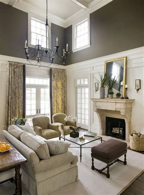 paint colors two tones and high ceilings on pinterest