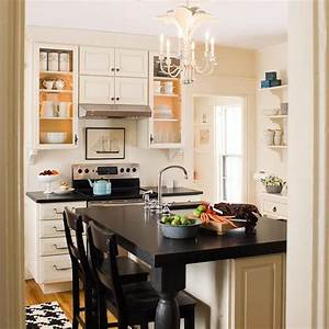 Small kitchen design layout ideas homedizz for Small kitchen design layout ideas