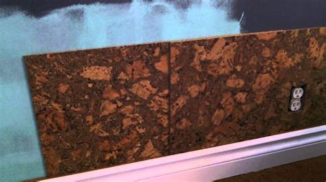cork flooring backsplash cork wall tile installation how to youtube