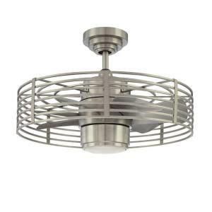 kitchen ceiling fans home depot designers choice collection enclave 23 in satin nickel