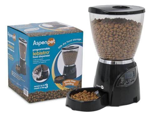 aspen pet feeder aspen le bistro automatic pet feeder review