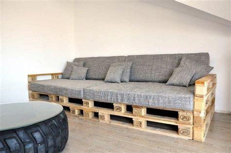sofa aus paletten sofa selber bauen f 252 r entspannte stunden zu hause