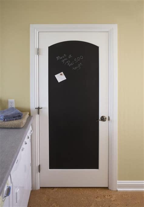 arch top black magnetic chalkboard door eclectic